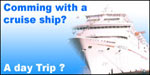 Cruise ship passengers, we will work with your schedule!  Let us know the earliest time we can pick you up and we will make sure you are back at the ship ontime.